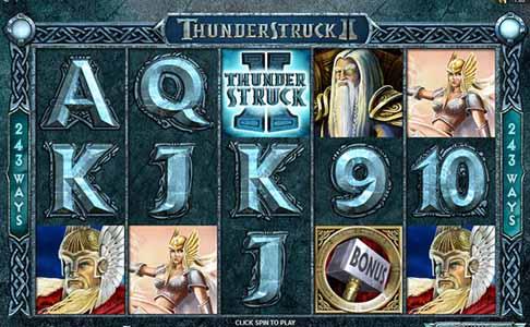 thunderstruck ii mobile slot